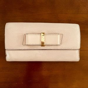 Kate Spade bow clutch wallet